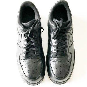 Air Force 1 |  Triple Black Sneakers